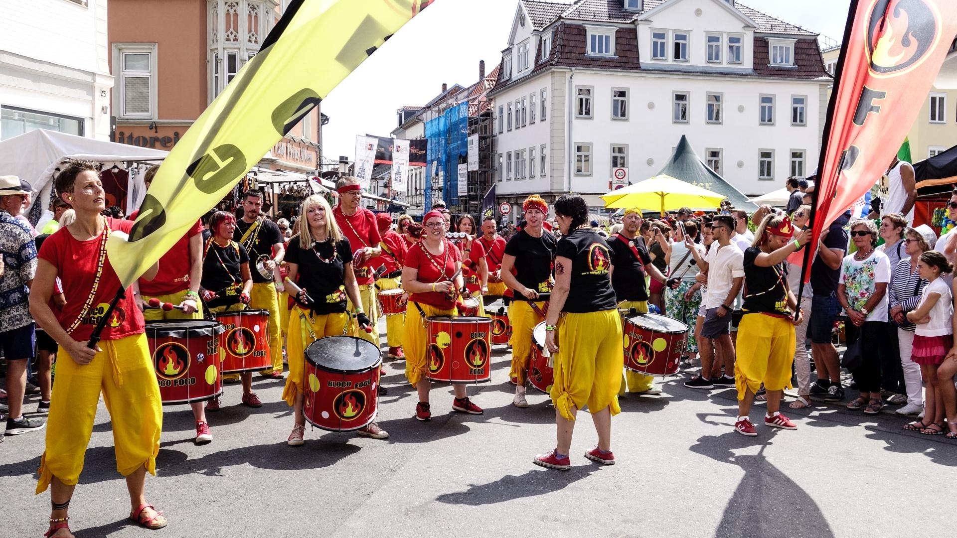 Samba Festival Coburg 2018 Foto & Bild   samba coburg