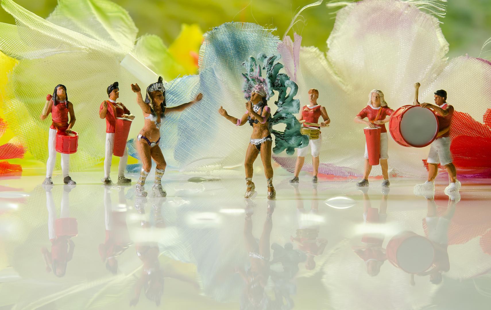 Samba in den Straßen von Rio?