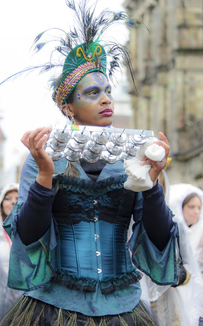 Samba Karneval cooles outfit