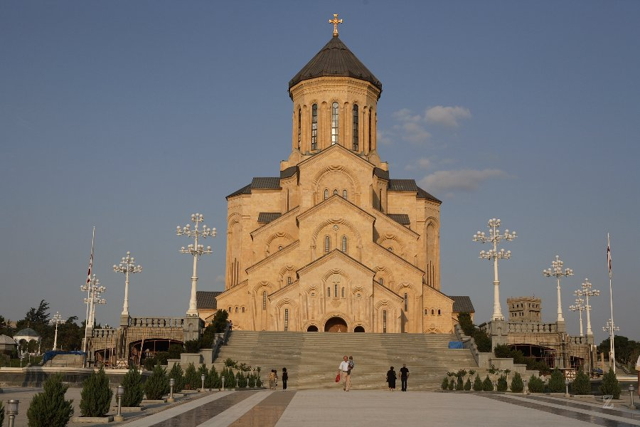 Sameba-Kathedrale in Tbilisi