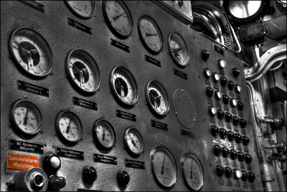 Sammelalarm Maschine