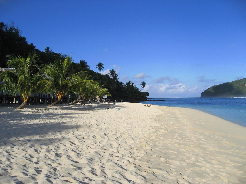 Samoa - Lalomanu Beach, Taufua Beach Fales