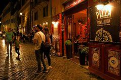 Samstag Nacht in Rom