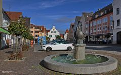 Samstagnachmittag in Aichach, Bayern