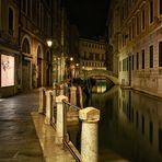 Samtige Nacht in Venedig