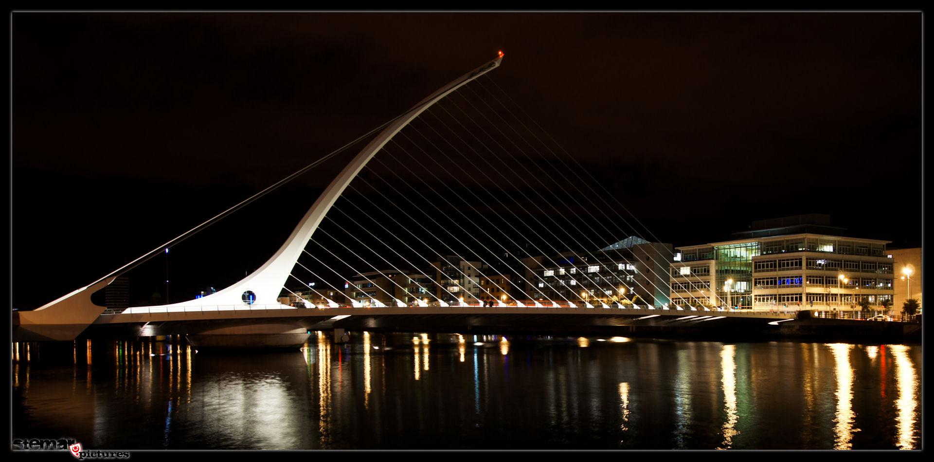 SAMUEL BECKETT BRIDGE (Dublin 2013)