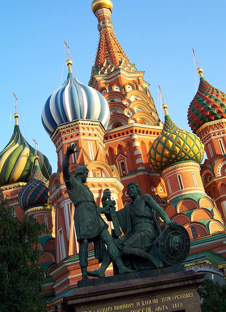 San Basilio, Plaza roja de Moscú