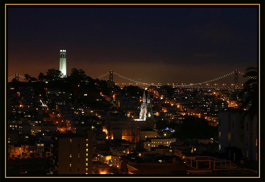 San Francisco at Night #2