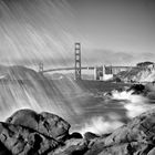 SAN FRANCISCO Baker Beach | Monochrom