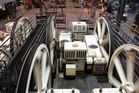 San Francisco , Cable Cars , für Techniker : Damit alles in Bwegung bleibt....