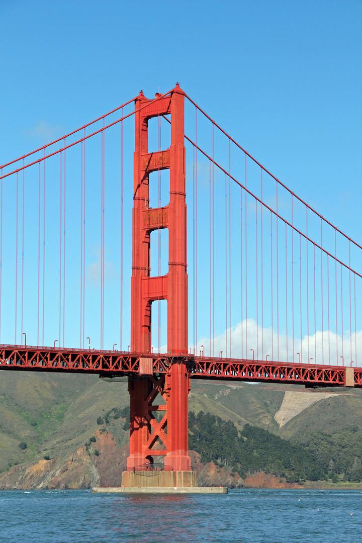 San Francisco - Golden Gate Bridge vom Fort Point
