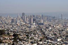 San Francisco Market Street und Financial District