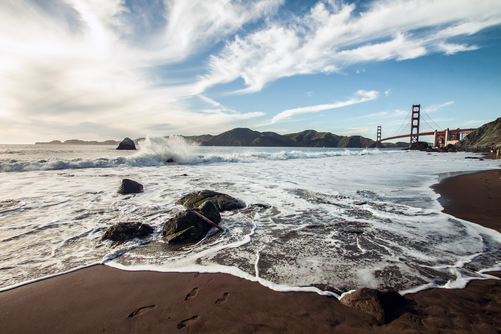 San Francisco -- Marshall Beach
