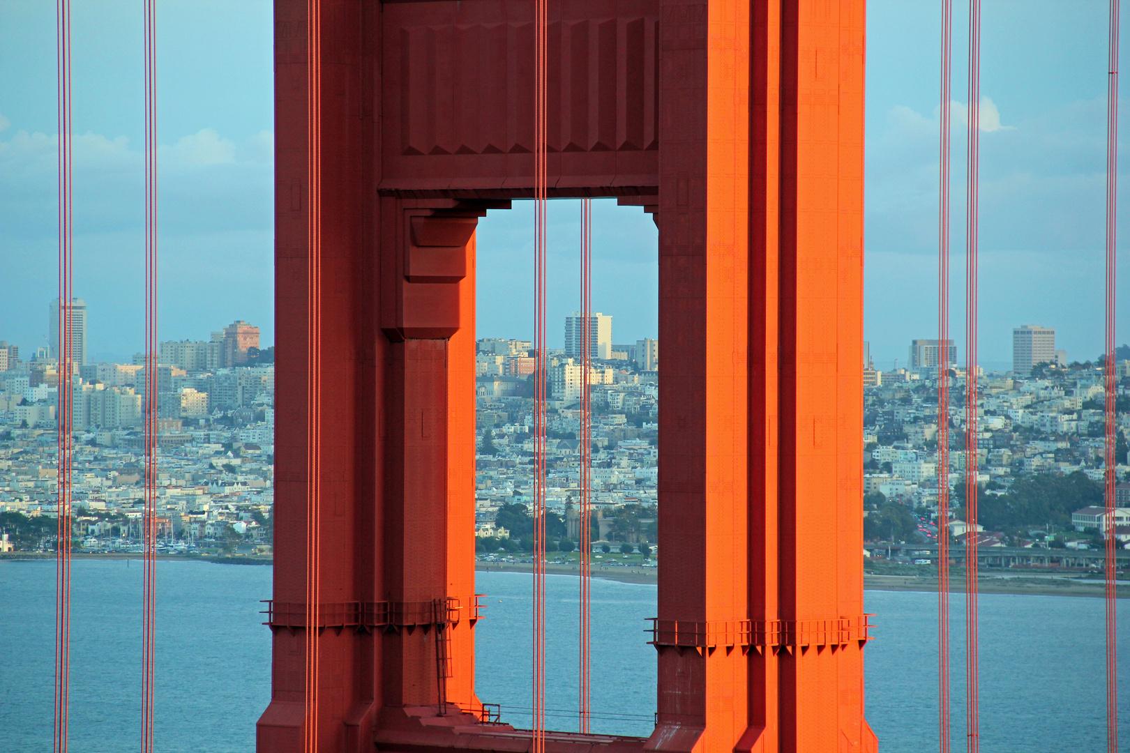 San Francisco - spezielle Sicht auf SF