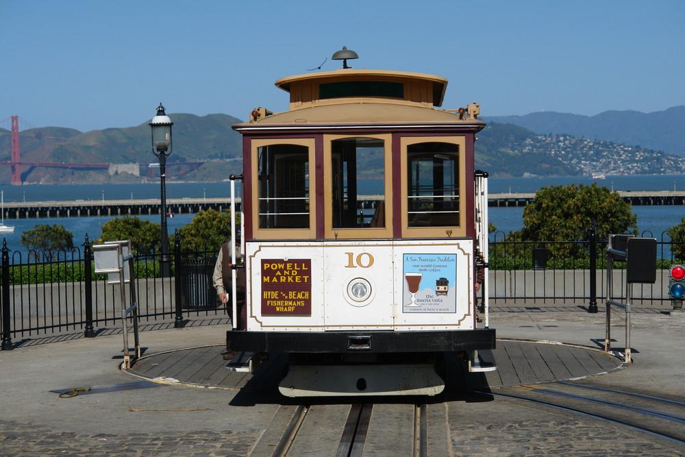 San Francisco , Wahrzeichen Nummer 2 : Das Cable Car !