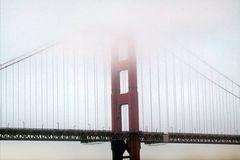 San Franzisco Golden Gate Brücke im Nebel