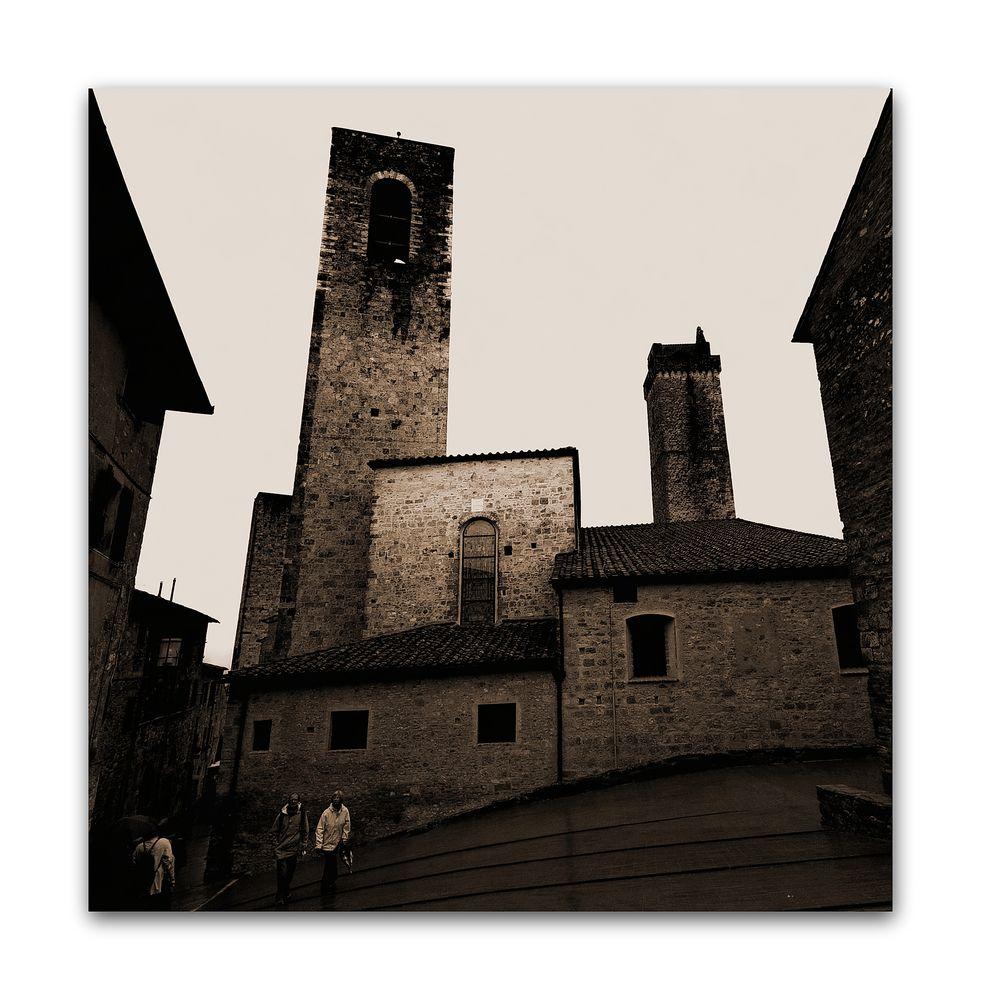 San Gimignano.....-alles schief