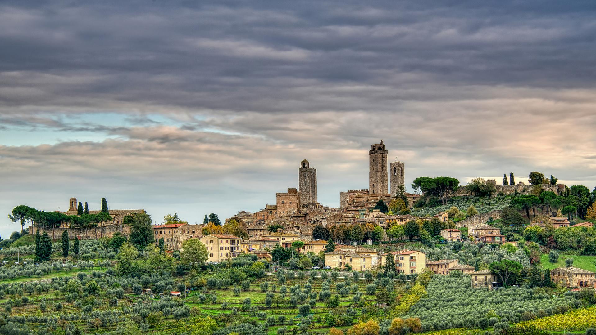 San Giminano - Toskana