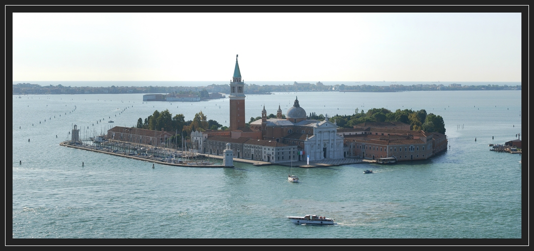 San Giorgio Maggiore (Blick vom Campanile)