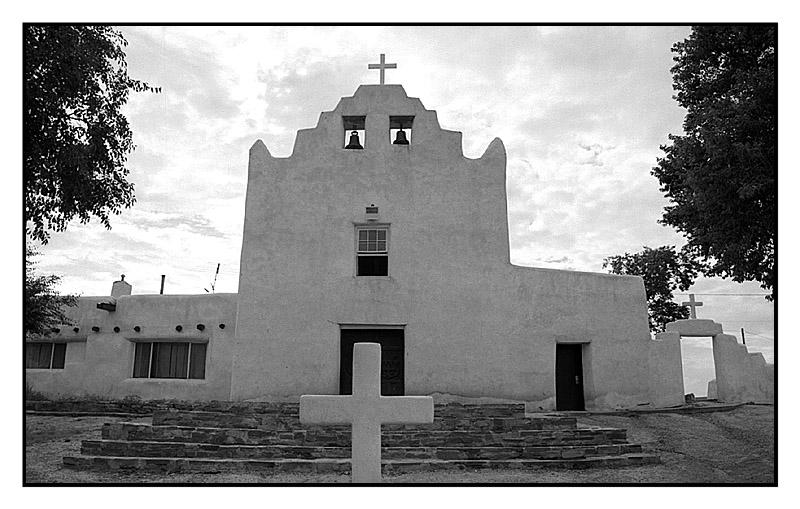 San José Mission Church - Laguna Pueblo, N.M.