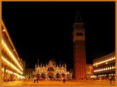 San Marco bei Nacht