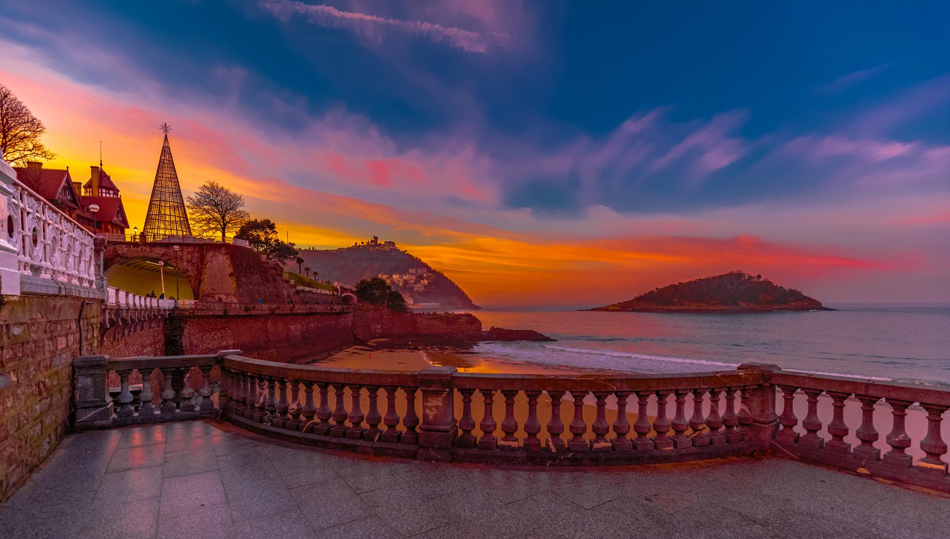 San Sebastián sunset