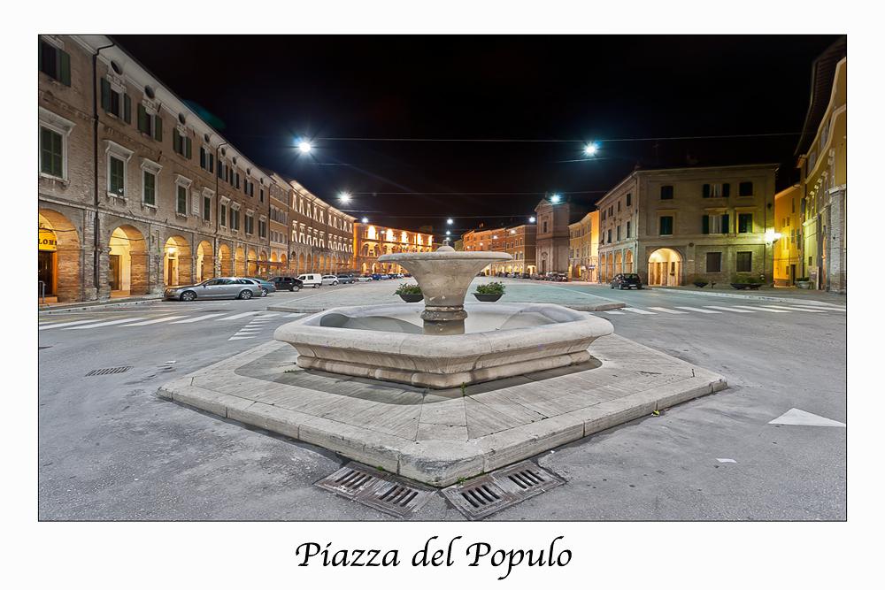 San Severino (Marche) Piazza del Populo