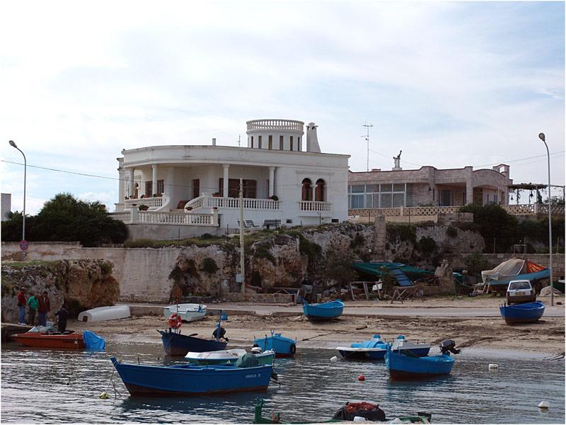 San Vito, das weisse Haus am Meer