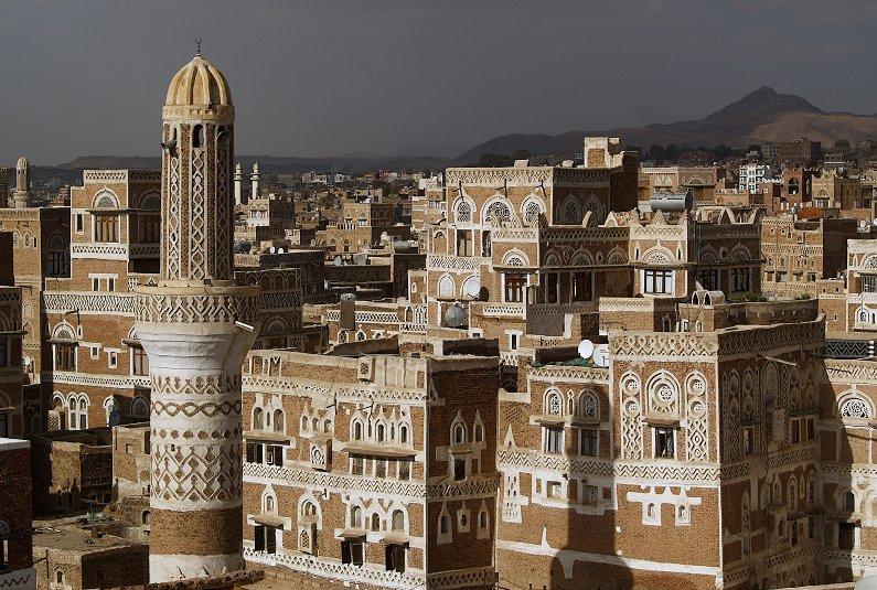 Sana'a vor dem Gewitter