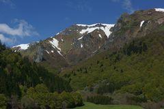 Sancy vue de la vallée de Chaudefour ( Puy Dôme )