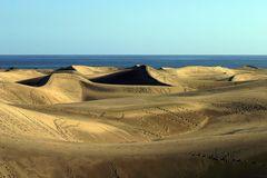 Sand - Dünen Las Dunas auf Gran Canaria