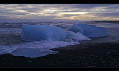 Sand-Eis-Meer