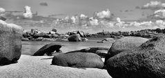 Sand, Felsen, Meer und Wind