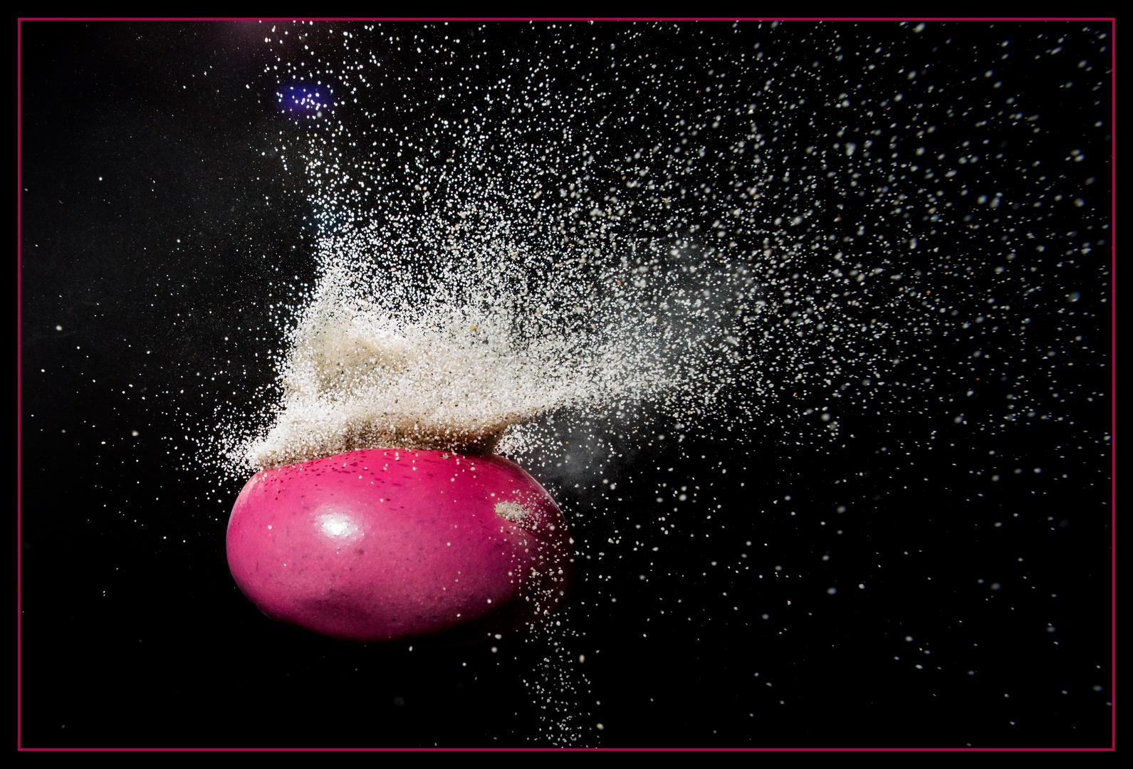 Sand im Ballon 06