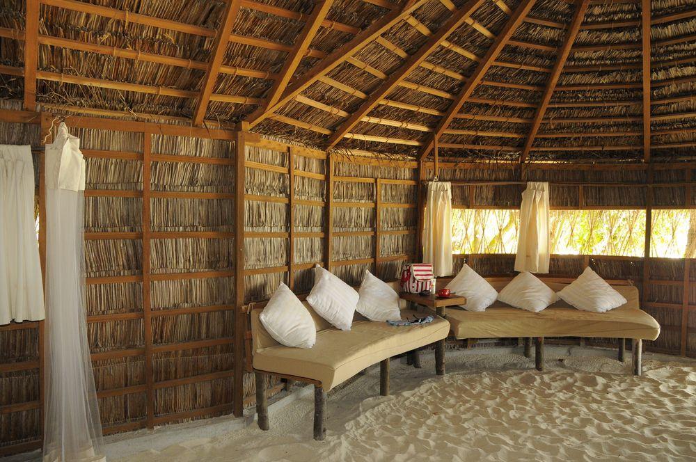 Sand in der Hütte