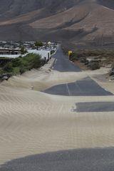 Sand unter
