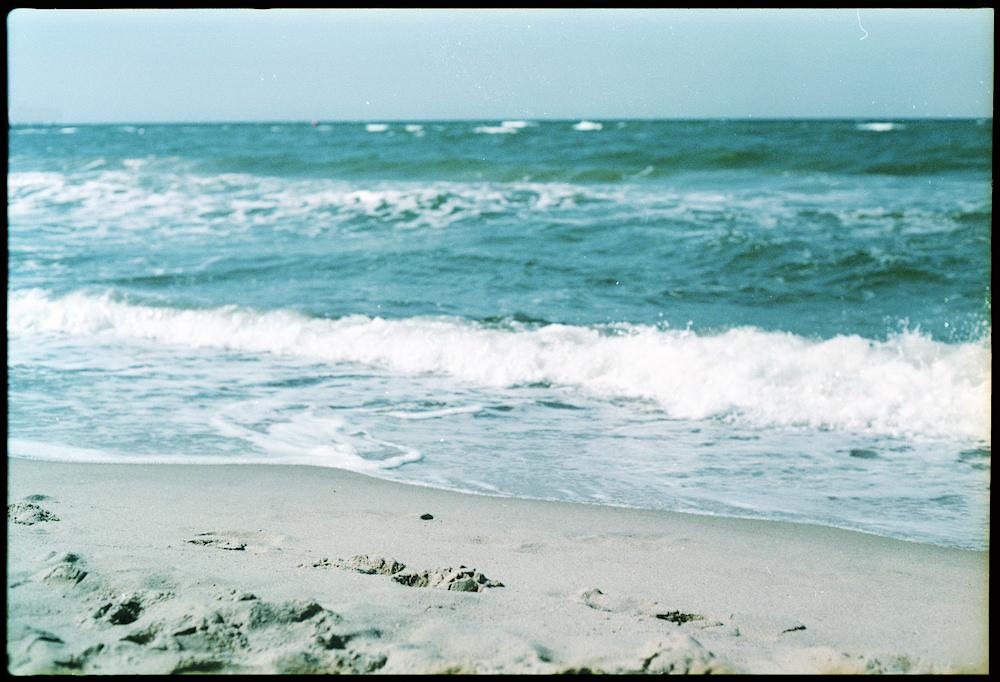 Sand unter den Füßen.