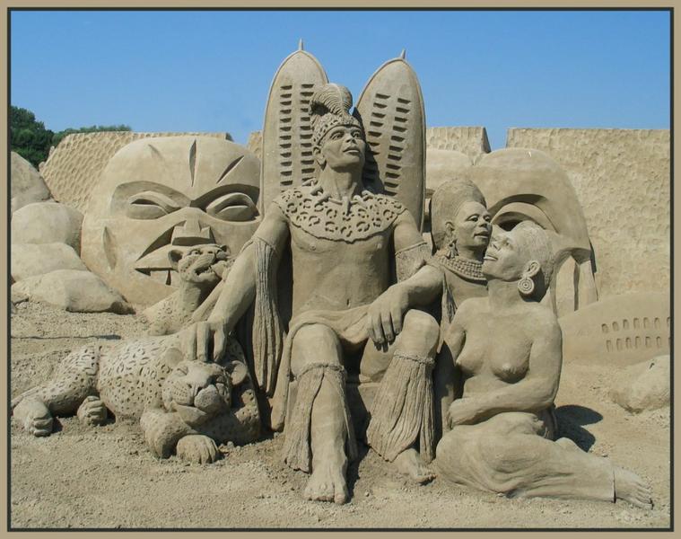 Sand  World in Travemünde