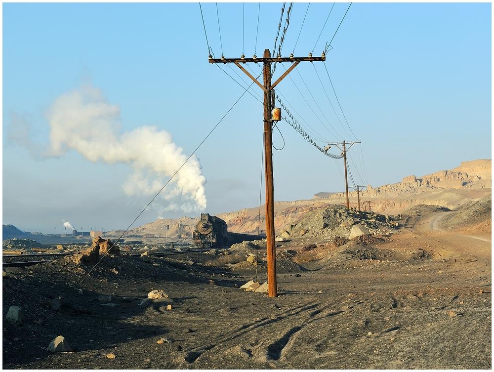 Sandaoling - Vormittagsimpressionen vom Kohleverkehr I