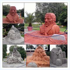 Sandausstellung im blühendes Barock LB