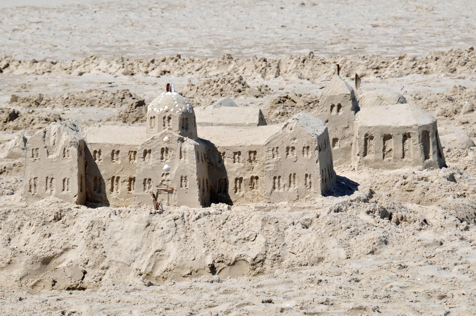 Sandburgen auf Amrum