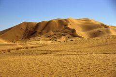 Sanddüne in der Wüste Rub-al-Khali
