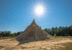 Sandfestival Binz 2020 - Höchste Sandburg der Welt