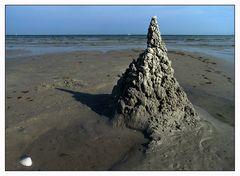 Sandkörner machen den Berg