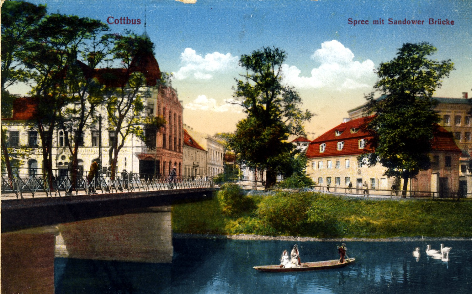 Sandower Brücke in Cottbus