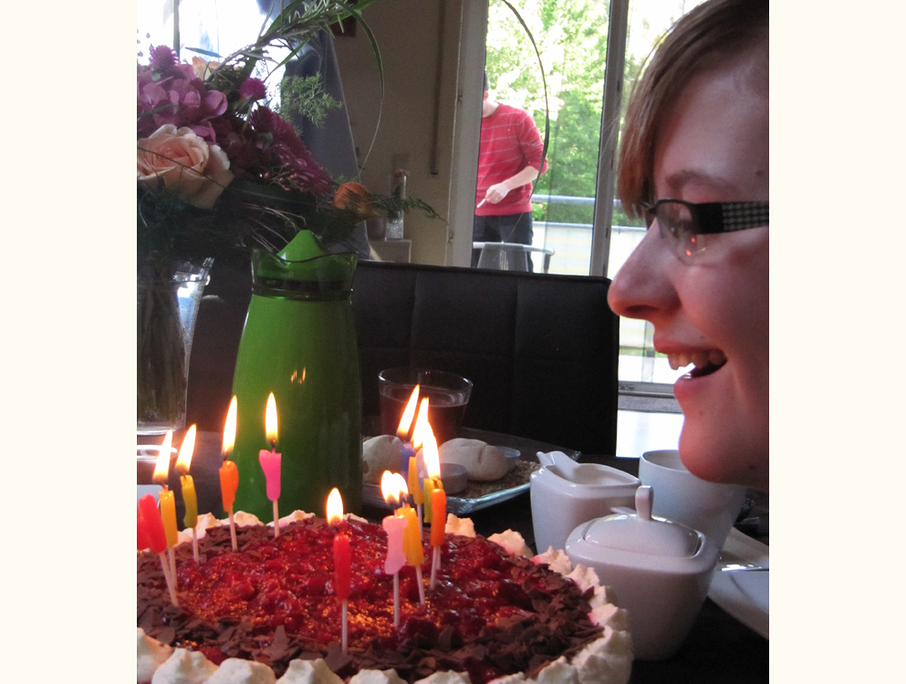 Sandra hat Geburtstag
