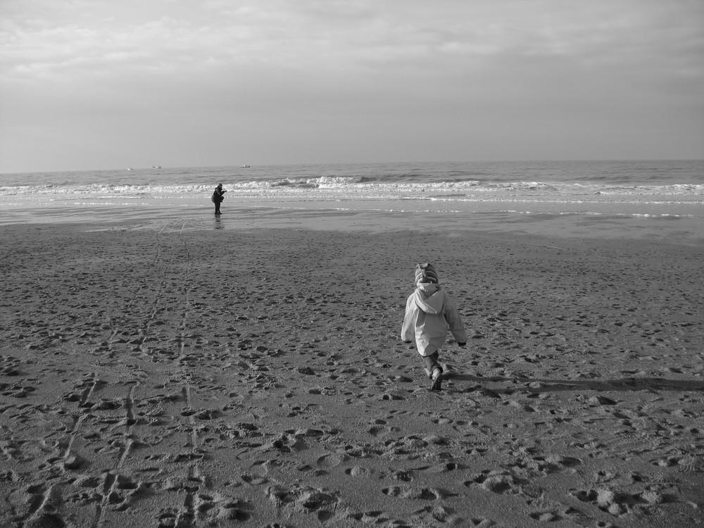 Sandra und Saskia in Ostende