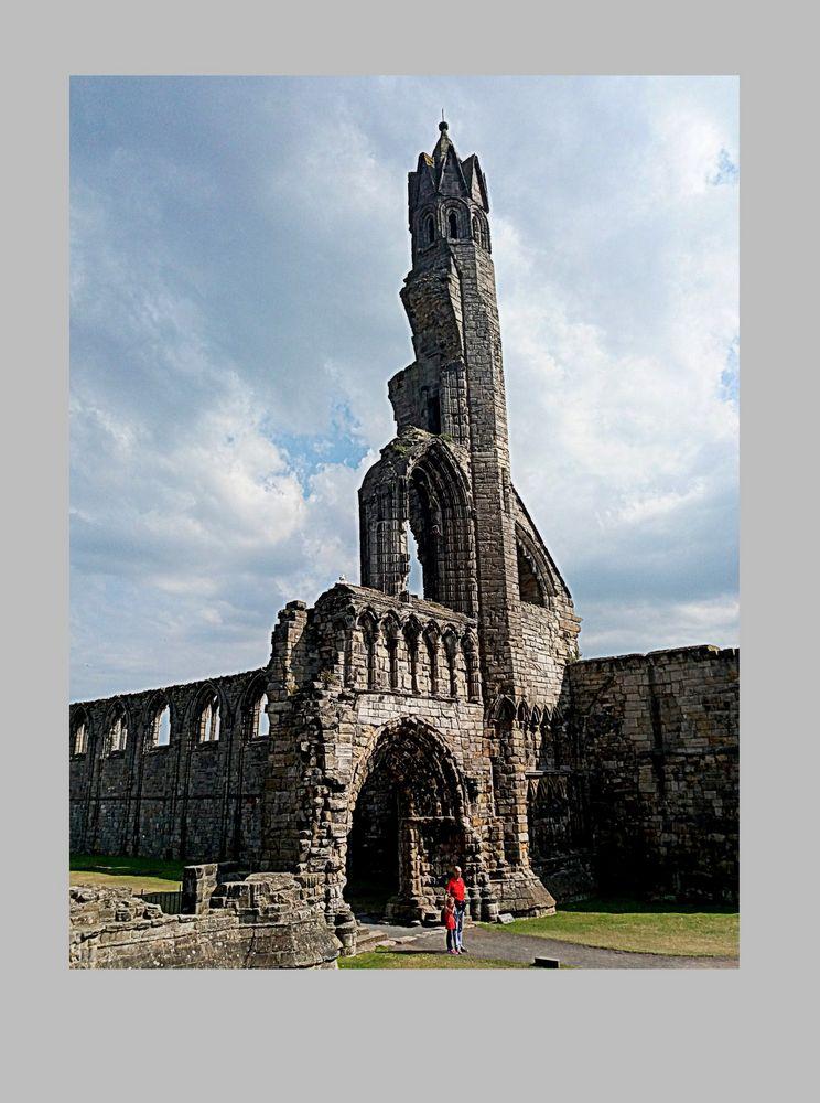 S:Andrews cattedrale...ciò che rimane!!!..