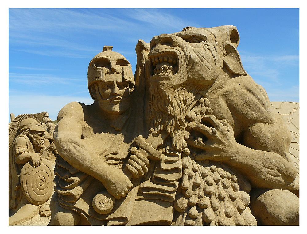 Sandskulpturen auf Texel 4