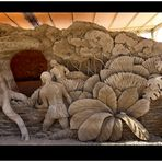 Sandskulpturen in Warnemünde
